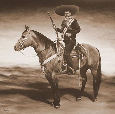Emiliano Zapata Painting - Zapata by Paco Leal