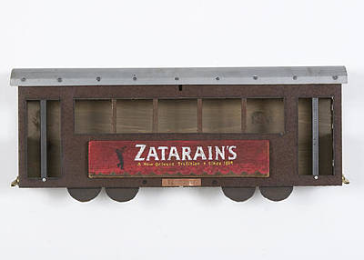 Mixed Media - Zatarains Street Car by Benjamin Bullins