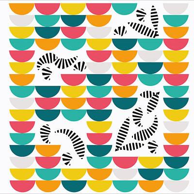 Zcraze Art Print by Kenneth Feliciano
