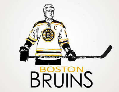 Boston Bruins Mixed Media - Zdeno Chara - Boston Bruins by Nate Gandt