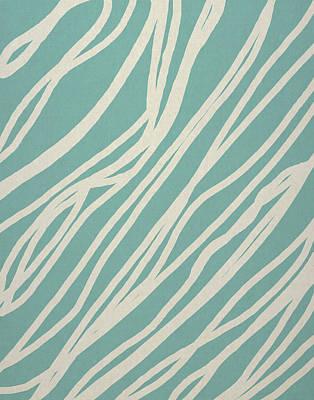 Zebra Art Print by Aged Pixel
