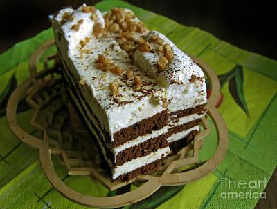 Photograph - Zebra Cake by Ausra Huntington nee Paulauskaite