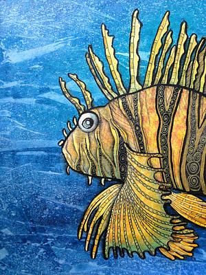 Graphics Painting - Zebra Fish -2 by Khromykh Natalia