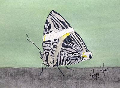 Painting - Zebra Mosaic by Peggy King