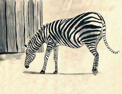 Painting - Zebra Stripes by Clara Sue Beym