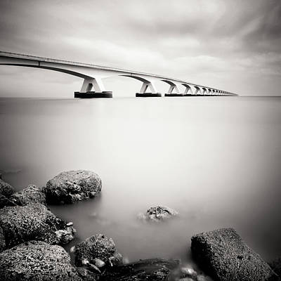 Zeelandbridge II Art Print by Nina Papiorek