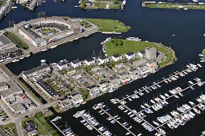 Flevoland Photograph - Zeewolde Marina, Flevoland by Bram van de Biezen