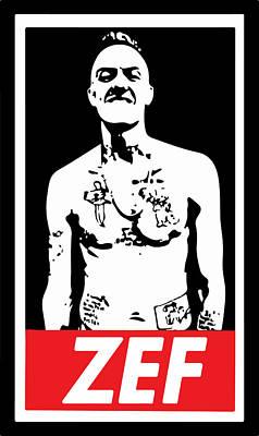 Obey Digital Art - Zef 2 by Jera Sky