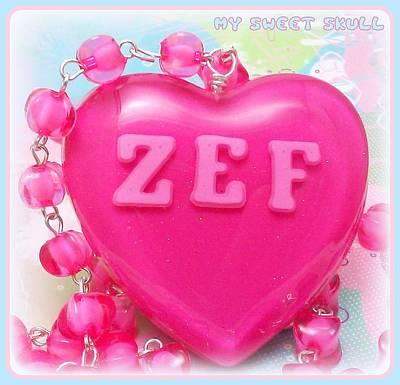 Zef Style Die Antwoord Necklace Original by Razz Ace