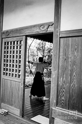 Photograph - Zen Archer by Dean Harte