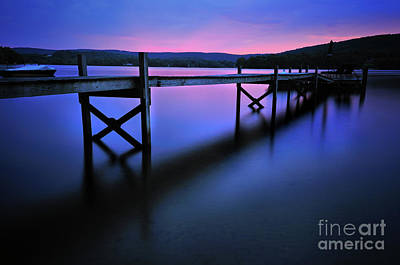 Photograph - Zen At Lake Waramaug by Expressive Landscapes Fine Art Photography by Thom