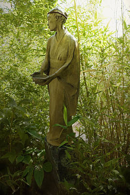 Photograph - Zen Bamboo Garden by Ann Powell
