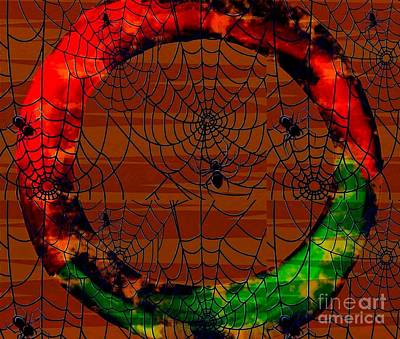 Painting - Zen Breakthrough Clear The Cobwebs by Saundra Myles