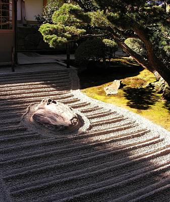 Photograph - Zen Garden Of Daisen-in by Jacqueline M Lewis