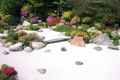 Zen Garden Art Print by Pamela Schreckengost