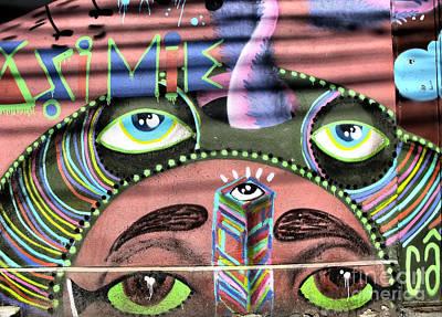 Photograph - Zen Graffiti by Daliana Pacuraru