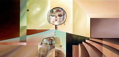 Painting - Zen by Laurend Doumba