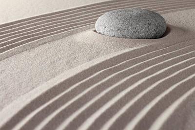Photograph - Zen Meditation Garden by Dirk Ercken