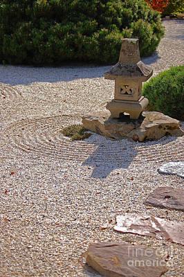 First Star Art By Jammer Photograph - Zen Path By Jammer by First Star Art