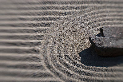 Photograph - Zen Rock Garden by Renee Hong