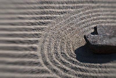 Photograph - Zen Rock Garden by Renee Hong