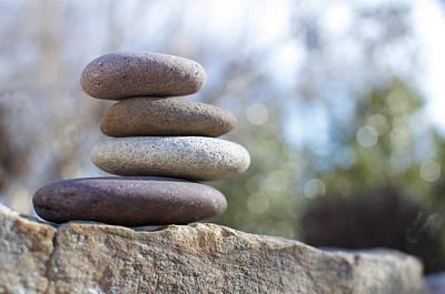 Zen Stones Art Print by Ben ONeal