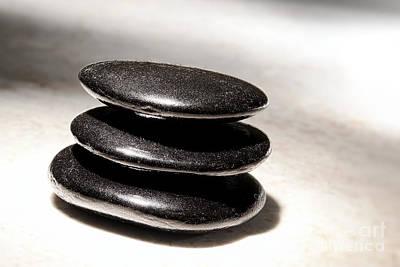 Photograph - Zen Stones by Olivier Le Queinec
