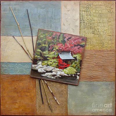 Mixed Media - Zen Tranquility by Phyllis Howard