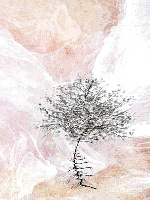 Zen Tree 2 Art Print by Klara Acel