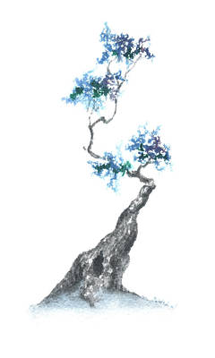 Zen Tree 840 Art Print by Sean Seal