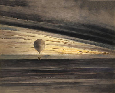 Zenith At Sunrise Print by Digital Reproductions