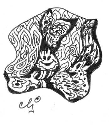 Zenoodle Dos Art Print