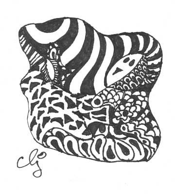 Zenoodle Uno Art Print