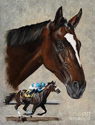 Zenyatta Painting - Zenyatta by Pat DeLong