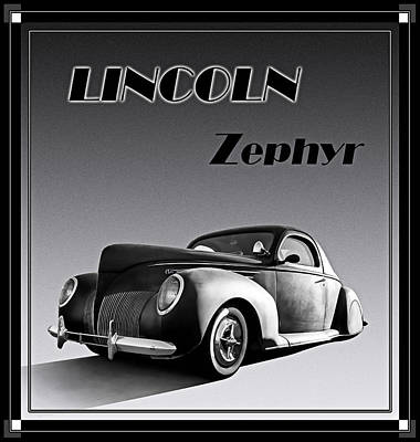 Hotrod Digital Art - Zephyr by Douglas Pittman