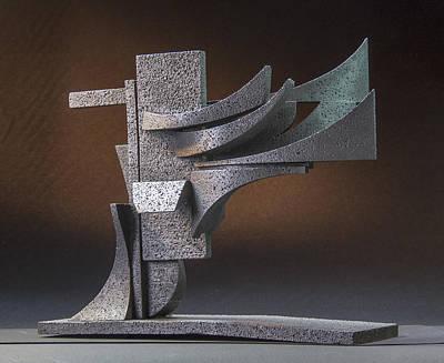 Sculpture - Zephyr by Richard Arfsten