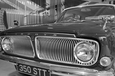 Car Photograph - Vintage Zephyr by Scott Purslowe