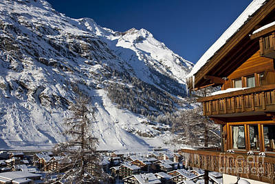 Photograph - Zermatt by Brian Jannsen