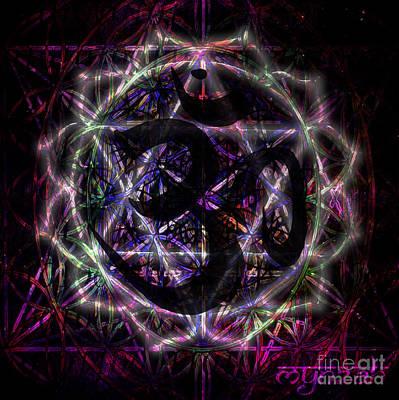 Digital Art - Zero One by Mynzah Osiris