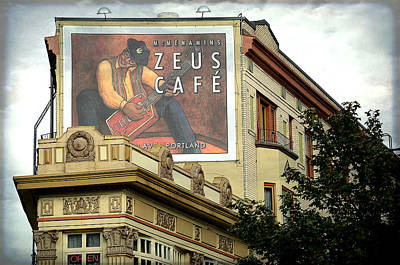 Photograph - Zeus Cafe by Fraida Gutovich