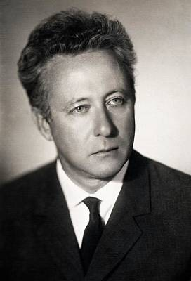 Aging Photograph - Zhores Medvedev by American Philosophical Society