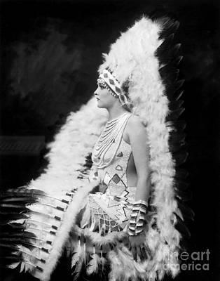 Ziegfeld Showgirl Model - Gladys Glad - Whoopee Art Print by MMG Archive Prints