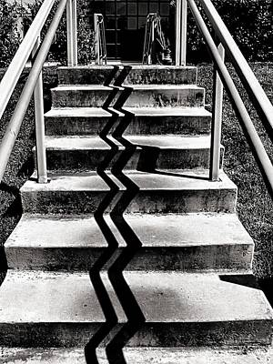 Photograph - Zig Zag by Bob Wall
