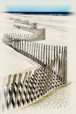 Photograph - Zig Zag Fence by Carolyn Derstine