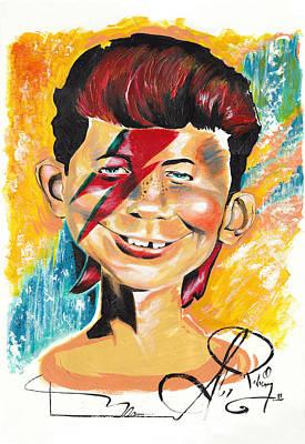 Alex Rodriguez Painting - Zigg-e. Newman by Alex Rodriguez