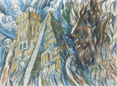 Painting - Ziggurat  by Igor Khalandovskiy