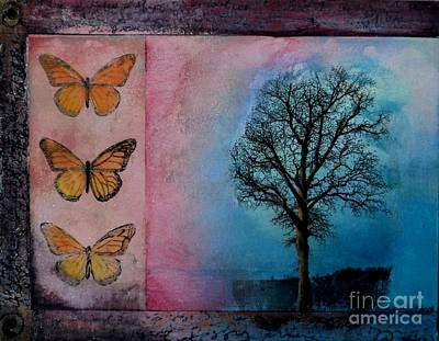 Zig's Tree Art Print by Cynthia Vaught