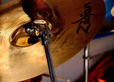 Photograph - Zildjian by Bob Wall