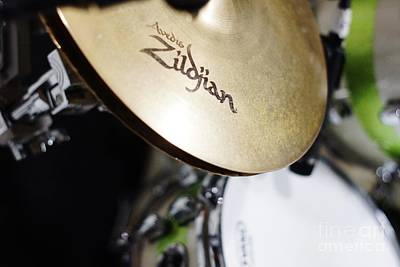 Photograph - Zildjian Hi-hat by Lynda Dawson-Youngclaus