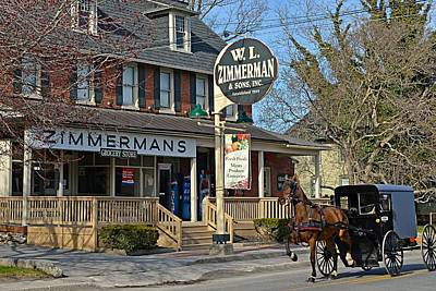 Photograph - Zimmerman's Store Intercourse Pennsylvania by Tana Reiff